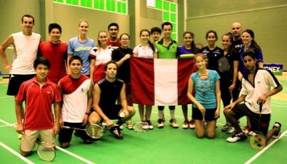 Team Perú de Bádminton conquistó cinco medallas en el Open de Santo Domingo 2015