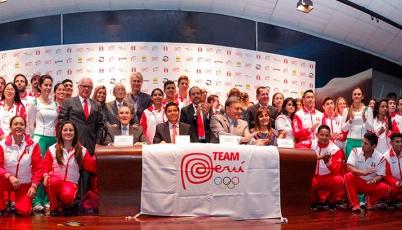 Con delegación más numerosa de la historia, el Team Perú quedó listo para Toronto 2015