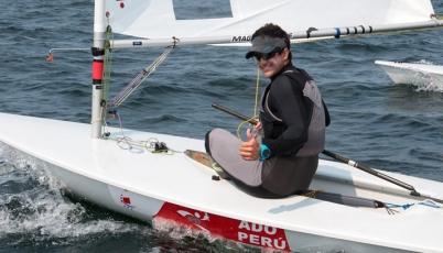 Laserista Stefano Peschiera clasificó a los Juegos Olímpicos de Río 2016