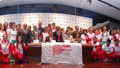 Team Perú y su lanzamiento previo a los Panamericanos de Toronto