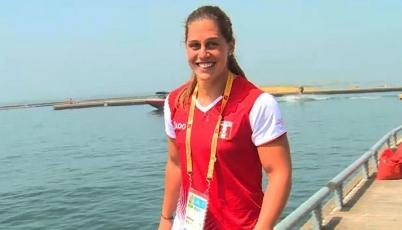 Delfina Cuglievan:  Muy feliz pues todas clasificamos a la final