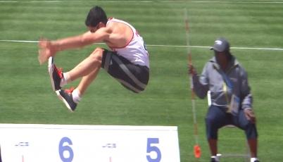 Atleta Jorge Mcfarlane clasificó a la final de salto largo en Toronto 2015