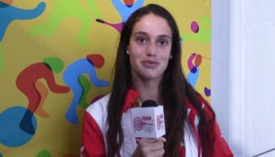 Natalia Cuglievan: Si puedo obtener un podio sería increíble