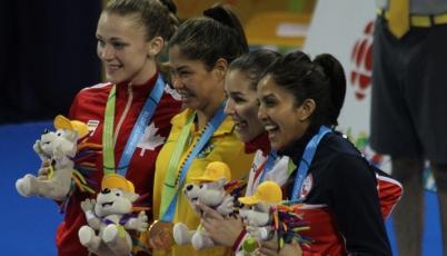 Lo mejor de la presea de bronce de la karateca Alessandra Vindrola en Toronto 2015