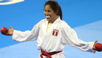 Karateca Alexandra Grande conquistó la cuarta presea de oro en Toronto 2015