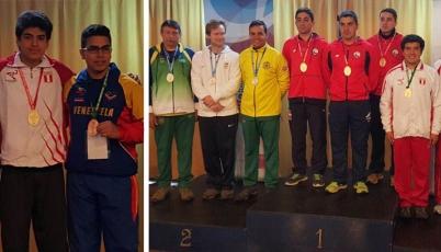 Team Perú de Tiro conquistó la medalla de oro y bronce en Sudamericano de Chile