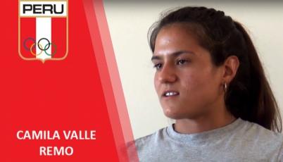 Camila Valle - remo
