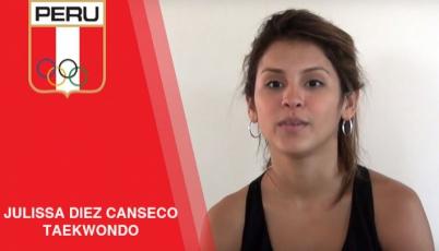 Julissa Diez Canseco - taekwondo