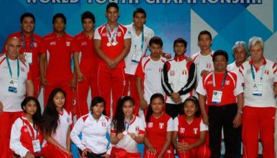 Team Perú de Pesas obtuvo la tercera posición del Panamericano Juvenil en México