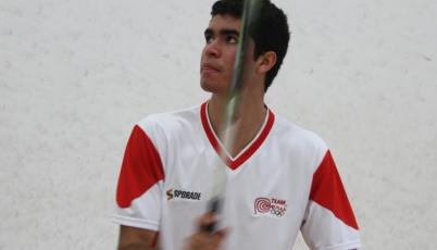 Diego Elías avanzó a cuartos de final en el PSA Nash Cup 2015 en Canadá