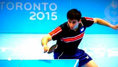 Tenimesista Diego Rodríguez consiguió la medalla de bronce en el ITTF World Tour Argentina Open