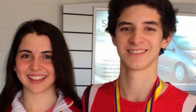 Team Perú Juvenil de Bádminton logró dos medallas en el Colombia International 2015