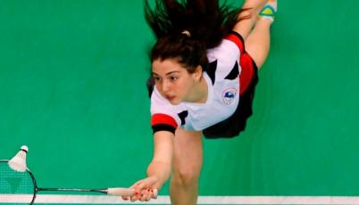 Daniela Macías va por el podio al XXX  Brasil International Badminton Cup