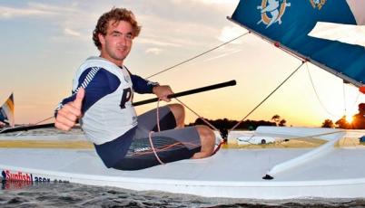 Jean Paul de Trazegnies: Haré respetar la casa en el Mundial de Sunfish 2015