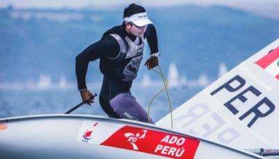 Stefano Peschiera conquistó la sexta posición en Campeonato de Clase Olímpica en Estados Unidos
