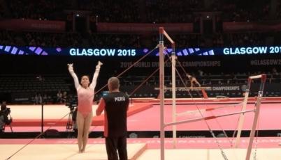 Gimnasta Ariana Orrego clasificó a los Juegos Olímpicos Río 2016