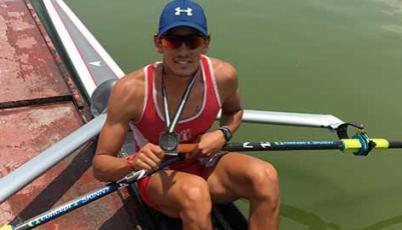 Renzo León quiere ubicarse entre los 15 mejores remeros en Río 2016